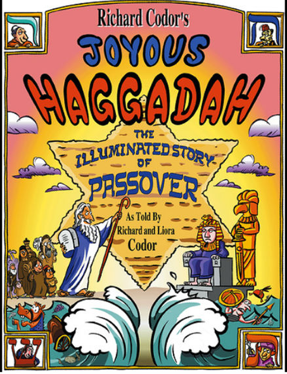 Richard Codor's Joyous Haggadah: The Illustrated Story by Baker & Taylor - ModernTribe