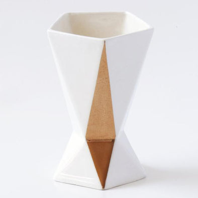 Shabbat Kiddush Cup with Gold Diamond