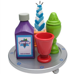 My Own Havdalah Set with Wine - Ages 3+ by Kid Kraft - ModernTribe