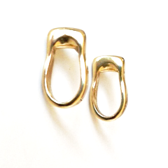 Loop Earrings in Bronze by Marla Studio by Marla Studio - ModernTribe - 1