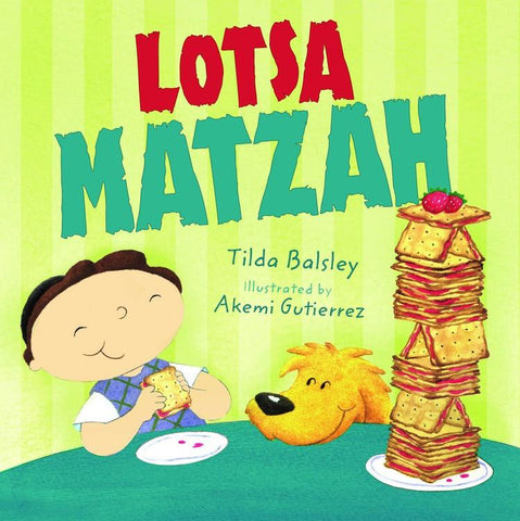 Lotsa Matzah Board Book - Ages 0-3 by Baker & Taylor - ModernTribe