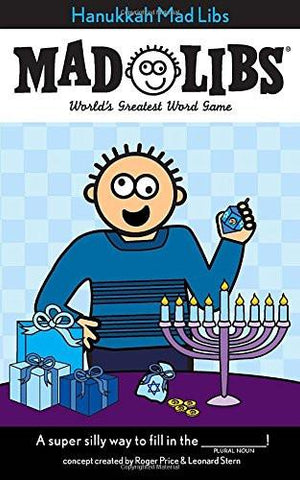 Hanukkah Mad Libs by Baker & Taylor - ModernTribe