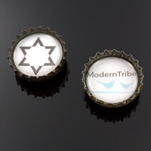 ModernTribe Magnets:  Recycled Bottle Caps by ModernTribe - ModernTribe