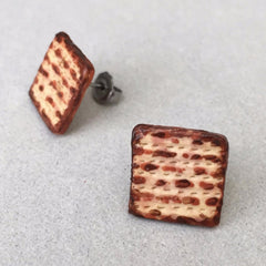 Matzah Earrings