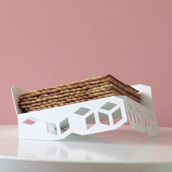 Elevated Geometric Matzah Tray/ Fruit Tray - ModernTribe