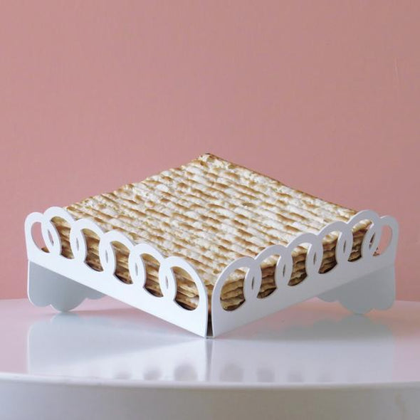 Elevated Ring Matzah Tray/ Fruit Tray - ModernTribe