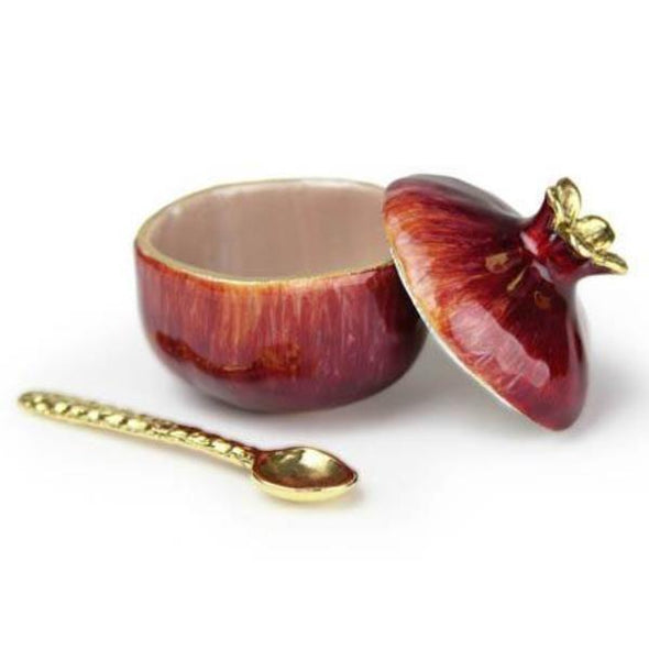 Mini Gold or Red Pomegranate Pot