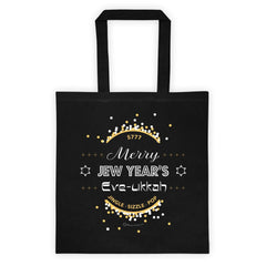 Merry Jew Year's Eve-ukkah Tote Bag