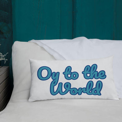 Oy to the World Pillow - ModernTribe
