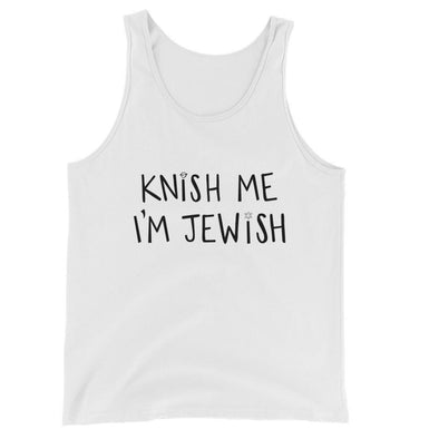 Gift ideas tagged funny jewish gifts moderntribe knish me im jewish unisex tank top negle Choice Image