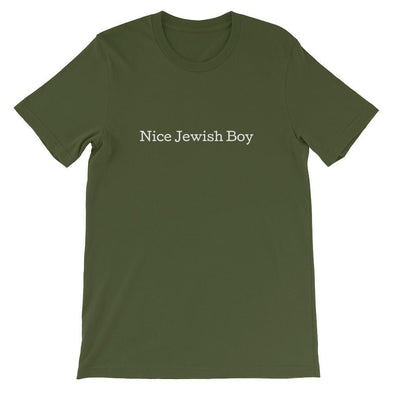 Nice Jewish Boy Shirt- Multiple Colors Available