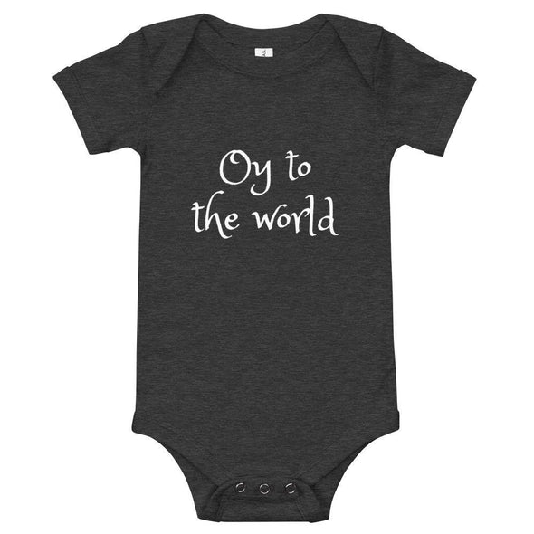 Oy to the World Baby Onesie - (Choice of Colors)
