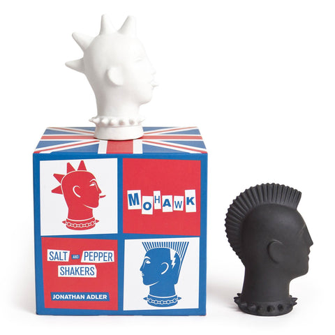 Mohawk Salt & Pepper Shakers by Jonathan Adler by Jonathan Adler - ModernTribe - 1