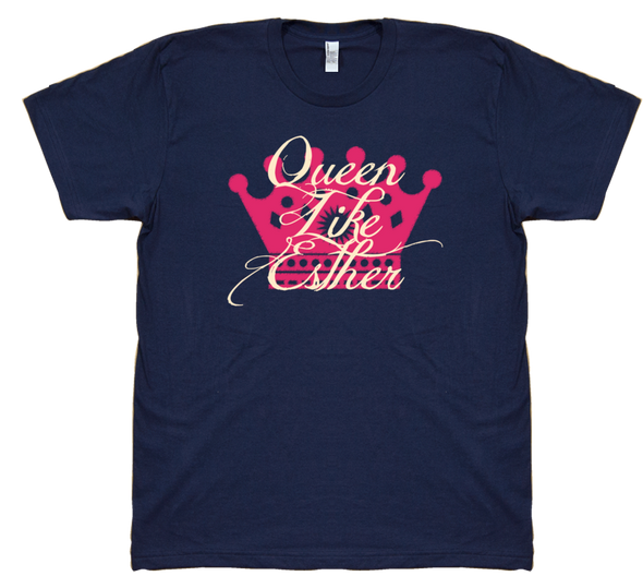 Queen Like Esther Purim T-Shirt by Merchify.com - ModernTribe - 15