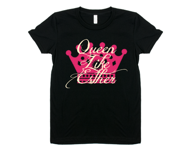 Queen Like Esther Purim T-Shirt by Merchify.com - ModernTribe - 17