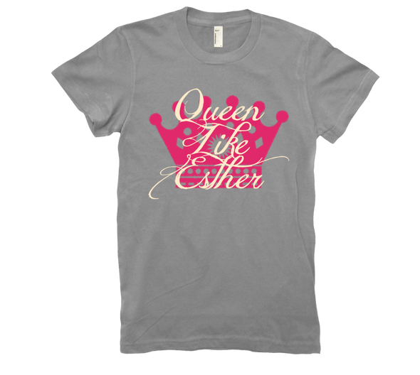 Queen Like Esther Purim T-Shirt by Merchify.com - ModernTribe - 4