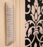Names Mezuzah by Kli - ModernTribe - 2