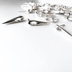 Needle Earrings - Silver by Marla Studio - ModernTribe - 1