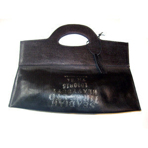 Recycled Tires: Trapeze Handbag by Neutra - ModernTribe - 1