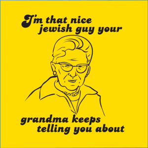 Nice Jewish Guy T-shirt - ModernTribe
