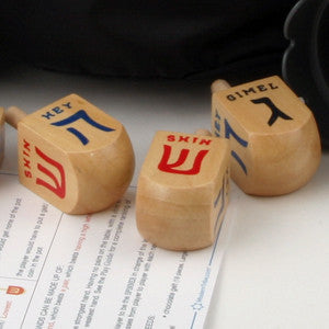 No Limit Texas Dreidel Game - Ages 9 to 99 - ModernTribe