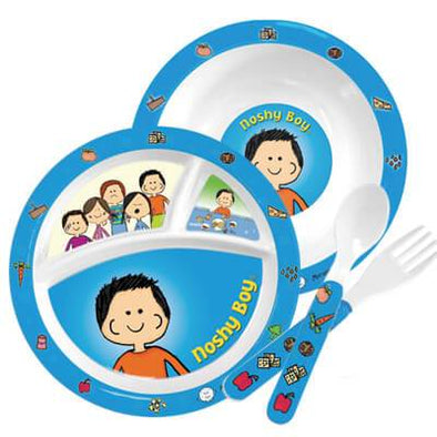 Noshy Boy Plate Set