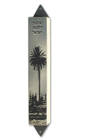 Palm Mezuzah by Shirley Lev - ModernTribe