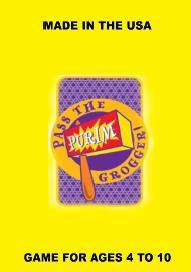 Pass The Grogger - Purim Game For Kids Ages 4-8 by Other - ModernTribe - 1