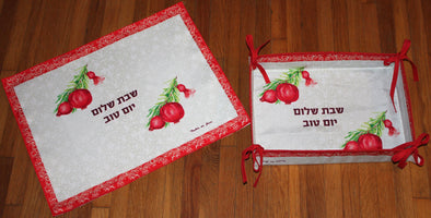 Pomegranate Cover & Basket Set