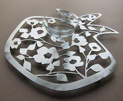 Blooming Pomegranate Dip Tray by Melanie Dankowicz by Melanie Dankowicz - ModernTribe - 1