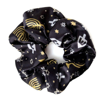 Midrash Manicures Headband One Size Hanukkah Scrunchie