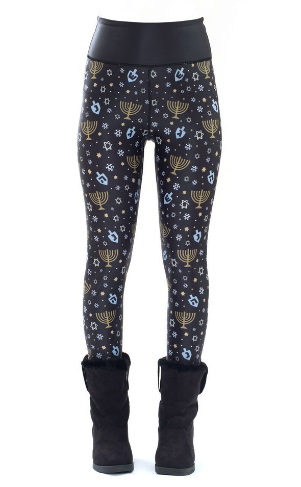 Hanukkah High-Performance Leggings