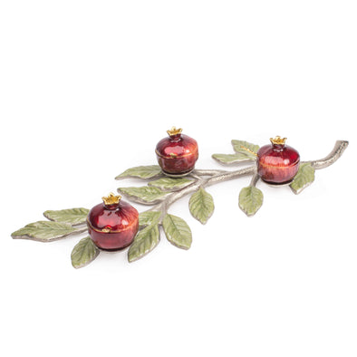 Quest Honey Dish Default Red Pomegranate Branch