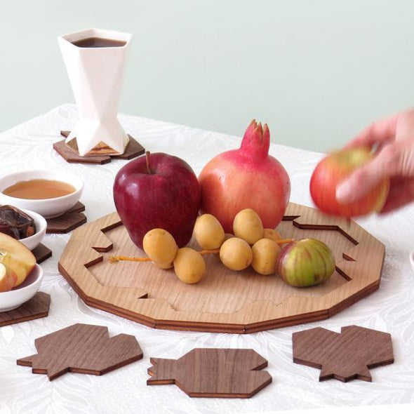 Rosh Hashanah Pomegranate Serving Set