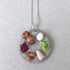 Seder Plate Necklace
