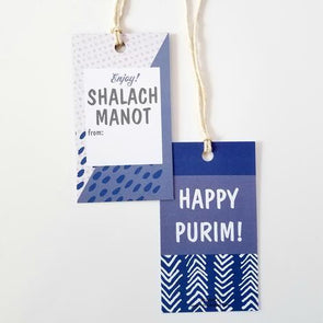 Shalach Manot Purim Gift Tags 10 Pack