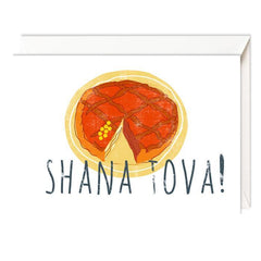 Rosh Hashanah Cards - Set of 4 - Symbols by Dvash - ModernTribe - 1