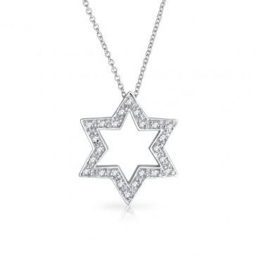 Bling Jewelry Necklaces Star Power Pendant