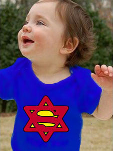 Super Jew Infant Bodysuit -- Too Cute! by Other - ModernTribe
