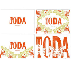 Toda - Thank You - Card Set by Dvash by Dvash - ModernTribe