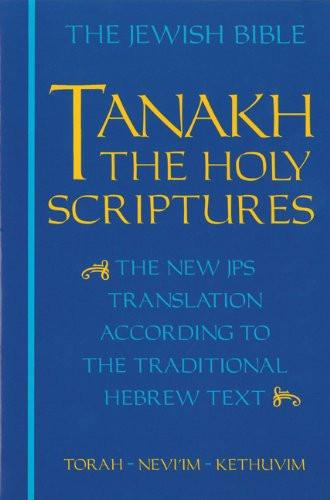 Baker & Taylor Book Tanakh: The Holy Scriptures