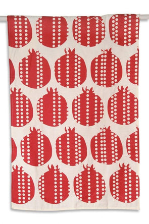 Modern Pomegranate Tea Towel