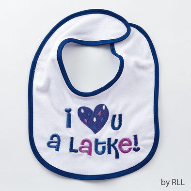 Rite Lite Bib I Love You a Latke Bib