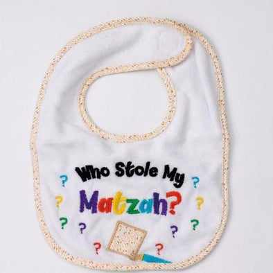 Who Stole My Matzah? Bib