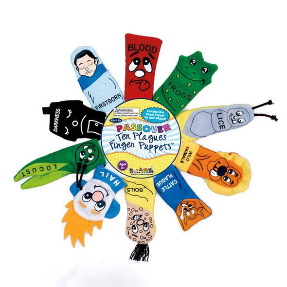 Rite Lite Craft Default Passover 10 Plagues Finger Puppets