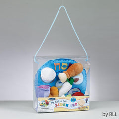 Deluxe Soft Seder Set in Reusable Pouch- Ages 3+