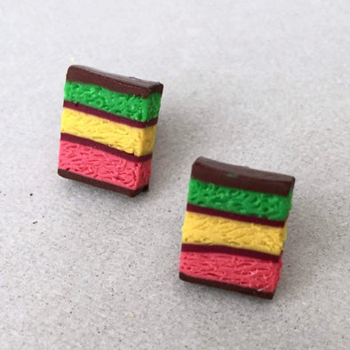 Rainbow Cookie Earrings