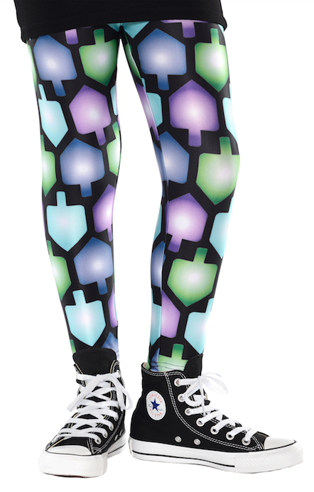 Hanukkah Dreidel Leggings by Midrash Manicures - ModernTribe