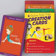 Shalom Kids Yoga Cards