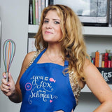 Party Like a Lox Star Apron - Pink